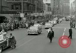 Image of Milwaukee Braves baseball team arrives in the city Milwaukee Wisconsin USA, 1953, second 40 stock footage video 65675020699