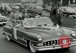 Image of Milwaukee Braves baseball team arrives in the city Milwaukee Wisconsin USA, 1953, second 48 stock footage video 65675020699