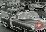 Image of Milwaukee Braves baseball team arrives in the city Milwaukee Wisconsin USA, 1953, second 49 stock footage video 65675020699