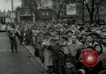 Image of Milwaukee Braves baseball team arrives in the city Milwaukee Wisconsin USA, 1953, second 51 stock footage video 65675020699