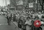 Image of Milwaukee Braves baseball team arrives in the city Milwaukee Wisconsin USA, 1953, second 53 stock footage video 65675020699