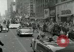 Image of Milwaukee Braves baseball team arrives in the city Milwaukee Wisconsin USA, 1953, second 55 stock footage video 65675020699