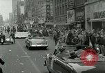 Image of Milwaukee Braves baseball team arrives in the city Milwaukee Wisconsin USA, 1953, second 56 stock footage video 65675020699