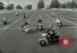 Image of Motorcycle policemen Los Angeles California USA, 1953, second 11 stock footage video 65675020700
