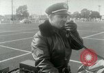 Image of Motorcycle policemen Los Angeles California USA, 1953, second 16 stock footage video 65675020700