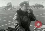 Image of Motorcycle policemen Los Angeles California USA, 1953, second 17 stock footage video 65675020700