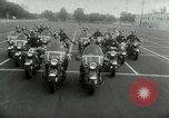 Image of Motorcycle policemen Los Angeles California USA, 1953, second 19 stock footage video 65675020700