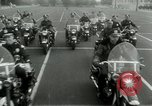Image of Motorcycle policemen Los Angeles California USA, 1953, second 21 stock footage video 65675020700