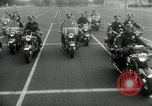 Image of Motorcycle policemen Los Angeles California USA, 1953, second 22 stock footage video 65675020700