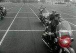 Image of Motorcycle policemen Los Angeles California USA, 1953, second 25 stock footage video 65675020700