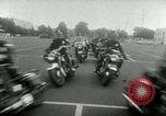 Image of Motorcycle policemen Los Angeles California USA, 1953, second 39 stock footage video 65675020700