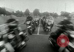 Image of Motorcycle policemen Los Angeles California USA, 1953, second 40 stock footage video 65675020700