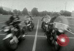 Image of Motorcycle policemen Los Angeles California USA, 1953, second 41 stock footage video 65675020700
