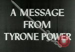 Image of Tyrone Power United States USA, 1953, second 7 stock footage video 65675020701