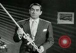 Image of Tyrone Power United States USA, 1953, second 27 stock footage video 65675020701