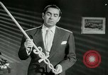 Image of Tyrone Power United States USA, 1953, second 34 stock footage video 65675020701
