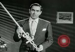 Image of Tyrone Power United States USA, 1953, second 37 stock footage video 65675020701