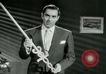 Image of Tyrone Power United States USA, 1953, second 39 stock footage video 65675020701