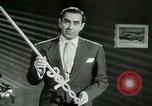 Image of Tyrone Power United States USA, 1953, second 43 stock footage video 65675020701