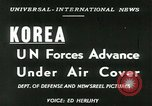 Image of United Nations Forces Korea, 1950, second 4 stock footage video 65675020702