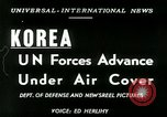 Image of United Nations Forces Korea, 1950, second 7 stock footage video 65675020702