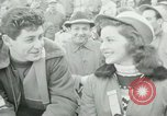 Image of Barrel jumping New York United States USA, 1953, second 19 stock footage video 65675020712