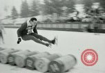 Image of Barrel jumping New York United States USA, 1953, second 62 stock footage video 65675020712