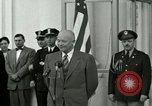 Image of President Dwight D Eisenhower Washington DC USA, 1953, second 2 stock footage video 65675020754