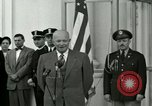Image of President Dwight D Eisenhower Washington DC USA, 1953, second 3 stock footage video 65675020754