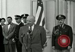 Image of President Dwight D Eisenhower Washington DC USA, 1953, second 4 stock footage video 65675020754