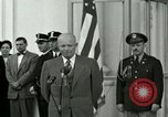 Image of President Dwight D Eisenhower Washington DC USA, 1953, second 5 stock footage video 65675020754