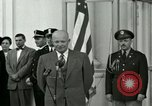 Image of President Dwight D Eisenhower Washington DC USA, 1953, second 6 stock footage video 65675020754