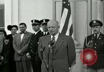 Image of President Dwight D Eisenhower Washington DC USA, 1953, second 15 stock footage video 65675020754