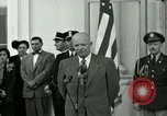 Image of President Dwight D Eisenhower Washington DC USA, 1953, second 19 stock footage video 65675020754