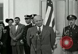 Image of President Dwight D Eisenhower Washington DC USA, 1953, second 22 stock footage video 65675020754