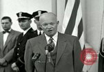 Image of President Dwight D Eisenhower Washington DC USA, 1953, second 31 stock footage video 65675020754