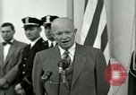 Image of President Dwight D Eisenhower Washington DC USA, 1953, second 33 stock footage video 65675020754