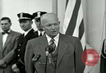 Image of President Dwight D Eisenhower Washington DC USA, 1953, second 34 stock footage video 65675020754