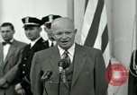 Image of President Dwight D Eisenhower Washington DC USA, 1953, second 36 stock footage video 65675020754