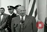 Image of President Dwight D Eisenhower Washington DC USA, 1953, second 37 stock footage video 65675020754