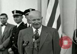 Image of President Dwight D Eisenhower Washington DC USA, 1953, second 38 stock footage video 65675020754