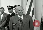 Image of President Dwight D Eisenhower Washington DC USA, 1953, second 39 stock footage video 65675020754