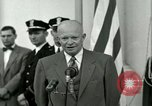 Image of President Dwight D Eisenhower Washington DC USA, 1953, second 40 stock footage video 65675020754