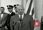Image of President Dwight D Eisenhower Washington DC USA, 1953, second 43 stock footage video 65675020754
