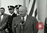 Image of President Dwight D Eisenhower Washington DC USA, 1953, second 44 stock footage video 65675020754