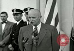 Image of President Dwight D Eisenhower Washington DC USA, 1953, second 47 stock footage video 65675020754
