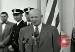Image of President Dwight D Eisenhower Washington DC USA, 1953, second 48 stock footage video 65675020754