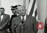 Image of President Dwight D Eisenhower Washington DC USA, 1953, second 52 stock footage video 65675020754