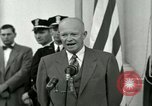 Image of President Dwight D Eisenhower Washington DC USA, 1953, second 53 stock footage video 65675020754