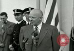 Image of President Dwight D Eisenhower Washington DC USA, 1953, second 54 stock footage video 65675020754